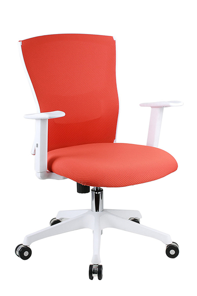 Ing Sw Low Back Mesh Chair In And Seat Fabric Simple Synchronize Mechanism With Flexible Plastic Lumber Support