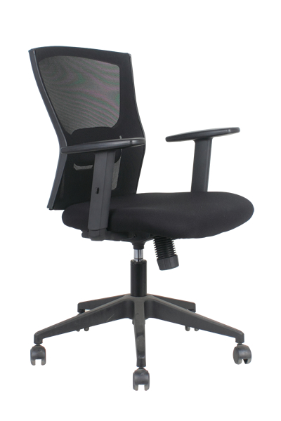 Ing Sa Low Back Mesh Chair In And Seat Fabric Simple Synchronized Mechanism Adjule Height Lumbar Support